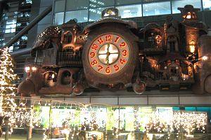 宮崎駿デザインの日テレ時計