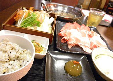 燦膳_すき焼き風豚肉のしゃぶしゃぶ.jpg